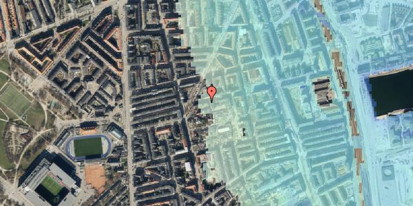 Stomflod og havvand på Viborggade 46, 3. , 2100 København Ø