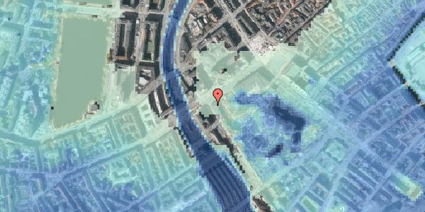 Stomflod og havvand på Vesterbrogade 3B, 1620 København V