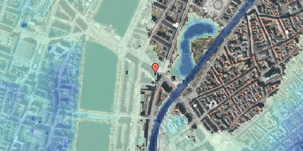 Stomflod og havvand på Gyldenløvesgade 11, 1600 København V