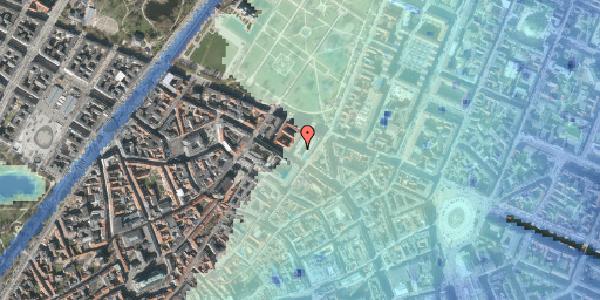 Stomflod og havvand på Sjæleboderne 2, 3. th, 1122 København K