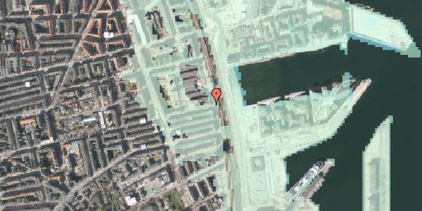 Stomflod og havvand på Østbanegade 117, 2100 København Ø