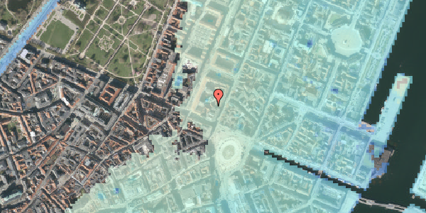 Stomflod og havvand på Gothersgade 8L, 1. , 1123 København K