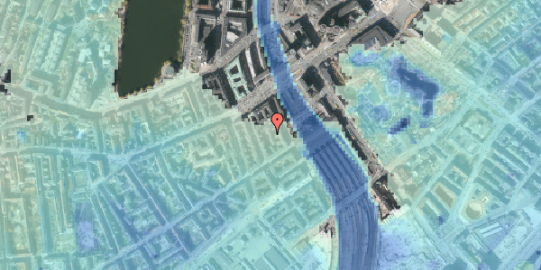 Stomflod og havvand på Reventlowsgade 10A, 5. tv, 1651 København V
