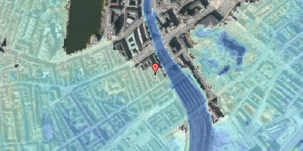 Stomflod og havvand på Reventlowsgade 10A, 5. th, 1651 København V