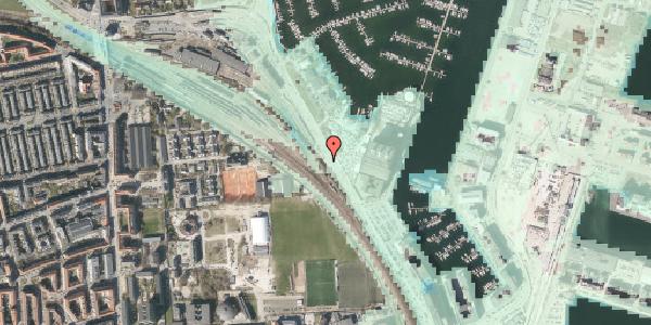 Stomflod og havvand på Strandvænget 42, st. , 2100 København Ø