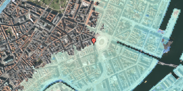 Stomflod og havvand på Østergade 4B, 2. , 1100 København K