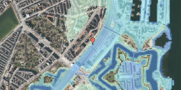 Stomflod og havvand på Østbanegade 10, 2100 København Ø