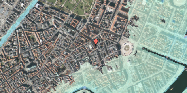 Stomflod og havvand på Gammel Mønt 3A, 1. , 1117 København K
