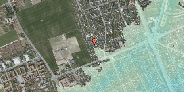 Stomflod og havvand på Hf. Dahlia 93, 2650 Hvidovre