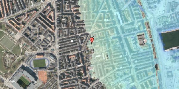 Stomflod og havvand på Viborggade 44, 1. tv, 2100 København Ø