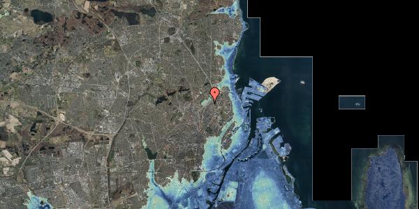 Stomflod og havvand på Emblasgade 81, 1. tv, 2100 København Ø