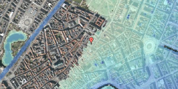 Stomflod og havvand på Købmagergade 44, 1150 København K
