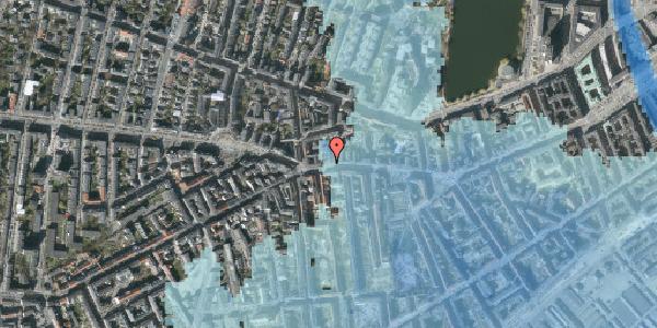 Stomflod og havvand på Vesterbrogade 76, 2. , 1620 København V