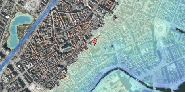 Stomflod og havvand på Valkendorfsgade 20, 1151 København K