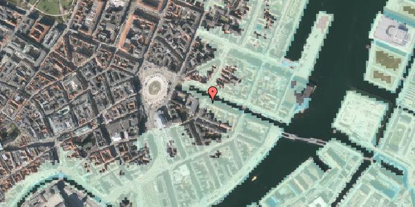 Stomflod og havvand på Nyhavn 4, st. , 1051 København K