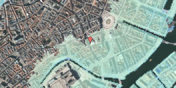 Stomflod og havvand på Bremerholm 18, 5. , 1069 København K