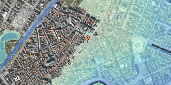 Stomflod og havvand på Klareboderne 3, 1. , 1115 København K