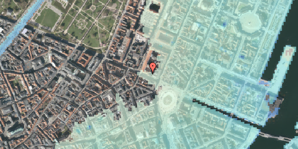 Stomflod og havvand på Gothersgade 10B, 1. , 1123 København K
