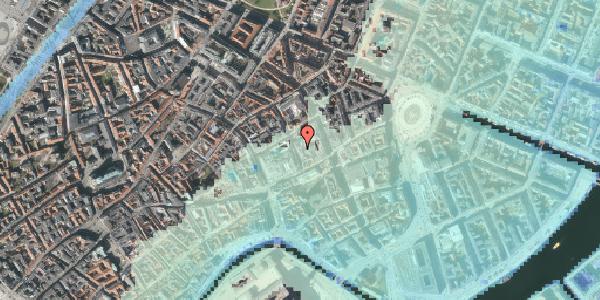 Stomflod og havvand på Pilestræde 8B, 1112 København K