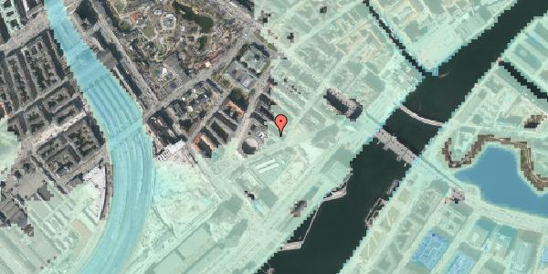 Stomflod og havvand på Otto Mønsteds Gade 4, 1571 København V