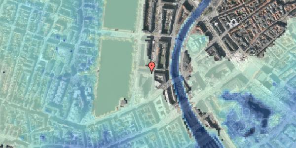 Stomflod og havvand på Nyropsgade 42, 8. , 1602 København V