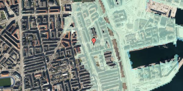 Stomflod og havvand på Århusgade 102, 5. , 2100 København Ø