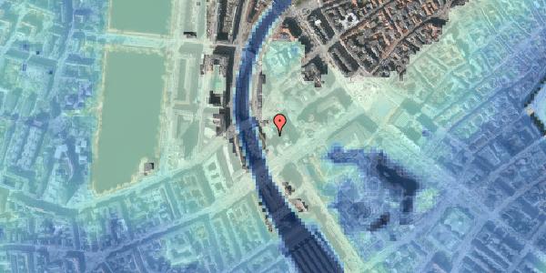Stomflod og havvand på Hammerichsgade 2, 4. , 1611 København V