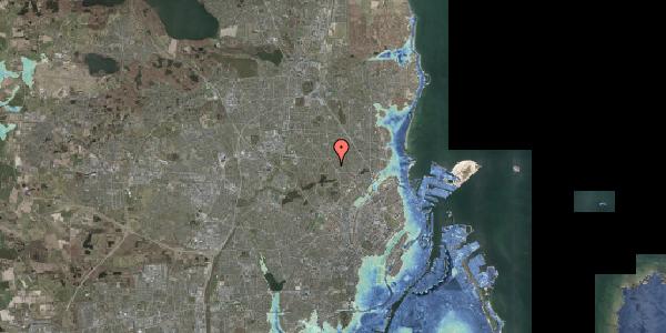 Stomflod og havvand på Frederiksborgvej 209A, 2400 København NV