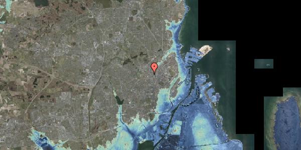 Stomflod og havvand på Hejrevej 34D, 2400 København NV