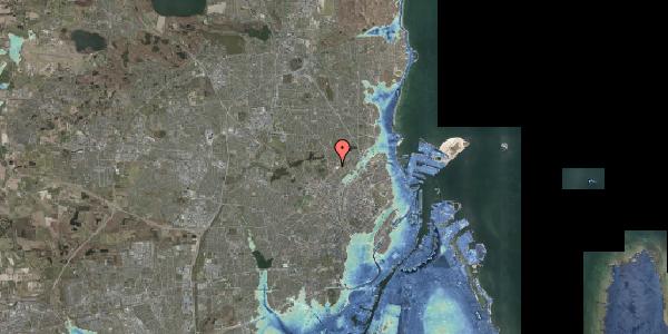 Stomflod og havvand på Peter Rørdams Vej 4, 1. mf, 2400 København NV