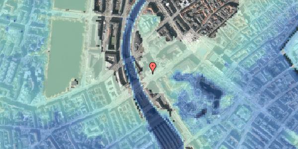 Stomflod og havvand på Vesterbrogade 4B, 1620 København V