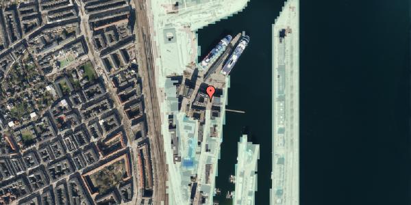 Stomflod og havvand på Amerika Plads 36, 4. tv, 2100 København Ø