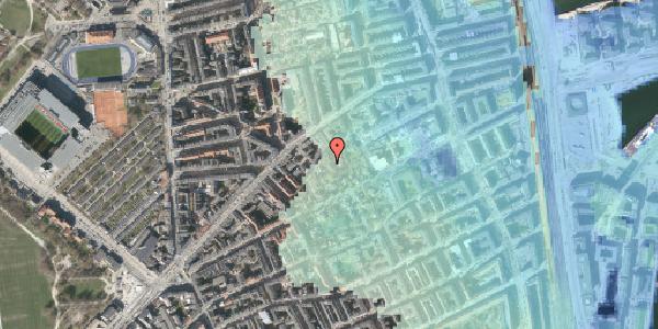 Stomflod og havvand på A.L. Drewsens Vej 6, 2100 København Ø