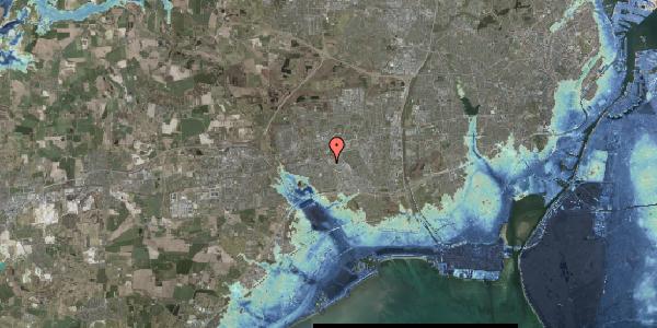 Stomflod og havvand på Firkløverparken 14, 2625 Vallensbæk