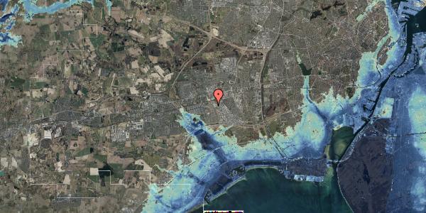 Stomflod og havvand på Firkløverparken 20, 2625 Vallensbæk