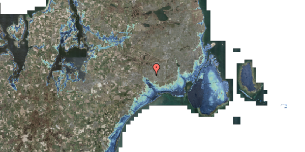 Stomflod og havvand på Firkløverparken 23, 1. 11, 2625 Vallensbæk