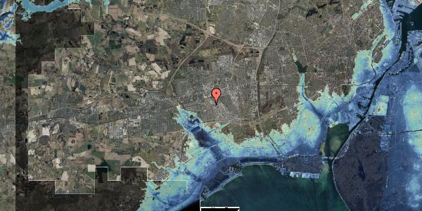 Stomflod og havvand på Firkløverparken 23, 2. 24, 2625 Vallensbæk