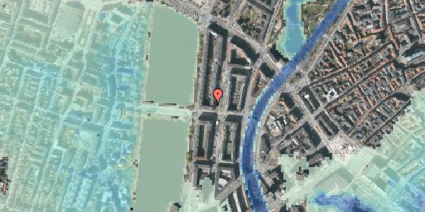Stomflod og havvand på Nyropsgade 28, 4. , 1602 København V