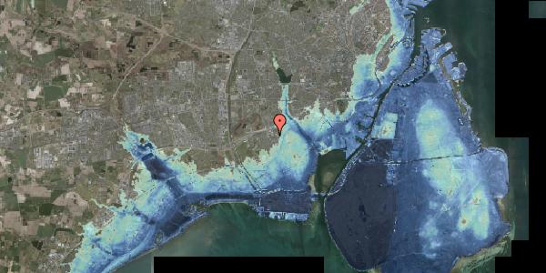 Stomflod og havvand på Hf. Svarø 90, 2650 Hvidovre