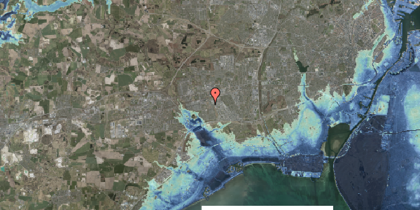 Stomflod og havvand på Nellikevænget 11C, 2625 Vallensbæk