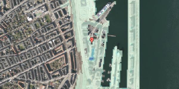 Stomflod og havvand på Amerika Plads 16, kl. , 2100 København Ø