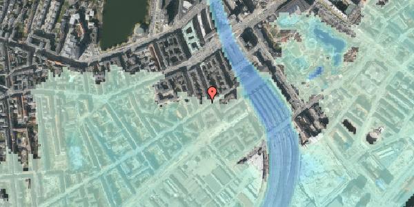 Stomflod og havvand på Istedgade 12, 2. , 1650 København V