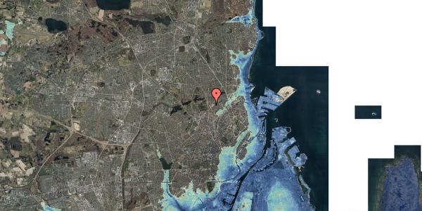 Stomflod og havvand på Peter Rørdams Vej 2A, 1. 6, 2400 København NV