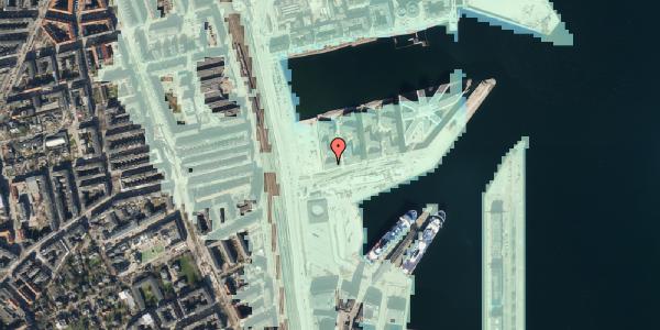 Stomflod og havvand på Marmorvej 7F, 2. th, 2100 København Ø