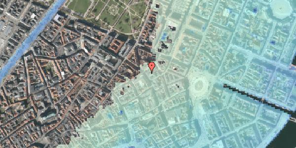 Stomflod og havvand på Gammel Mønt 4, 4. , 1117 København K