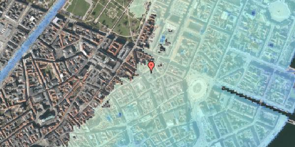 Stomflod og havvand på Store Regnegade 2, 1. , 1110 København K