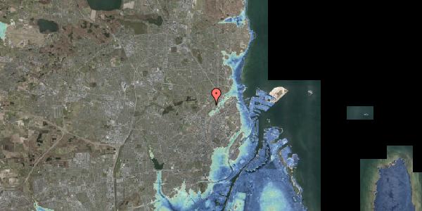 Stomflod og havvand på Bispebjerg Bakke 24, 2400 København NV