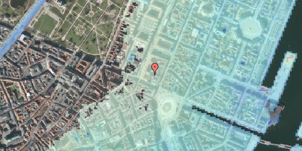 Stomflod og havvand på Gothersgade 8E, 3. , 1123 København K