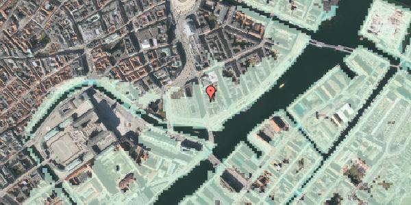 Stomflod og havvand på Niels Juels Gade 9, 1059 København K