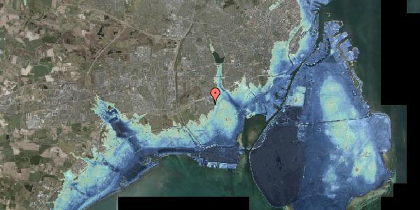 Stomflod og havvand på Hf. Svarø 87, 2650 Hvidovre